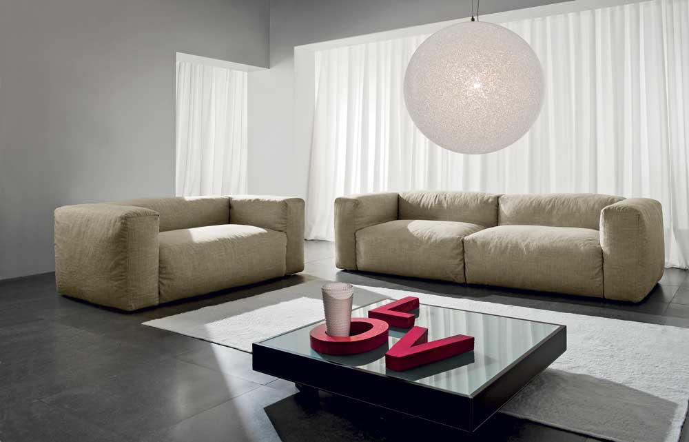 Foto divano Fluffy by Meta Design